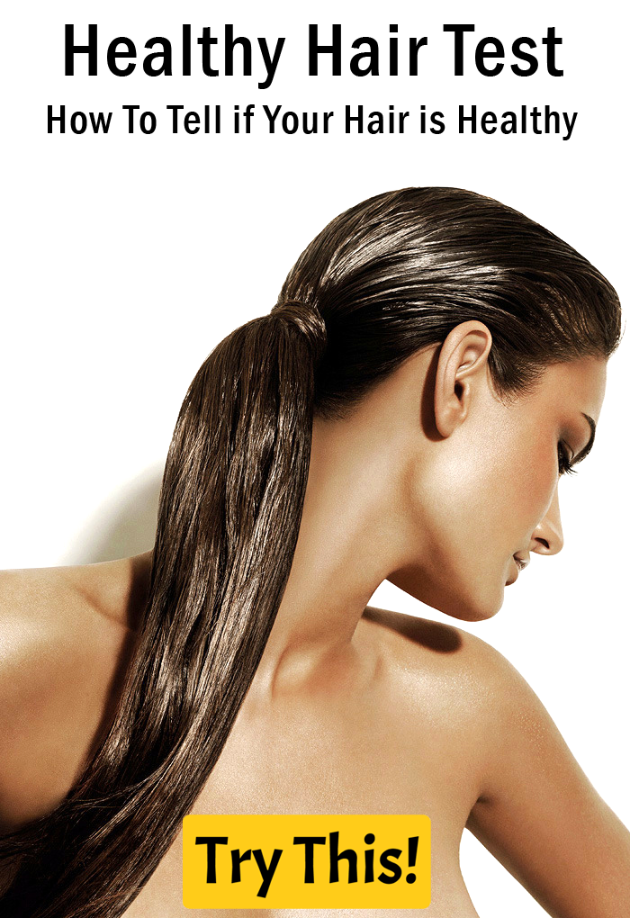 Healthy Hair Test How To Tell If Your Hair Is Healthy