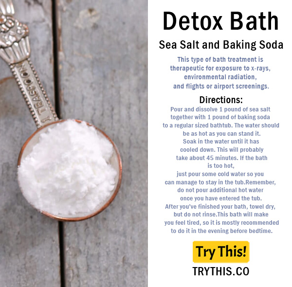 Top 25 Detox Bath Recipes Beauty Tips