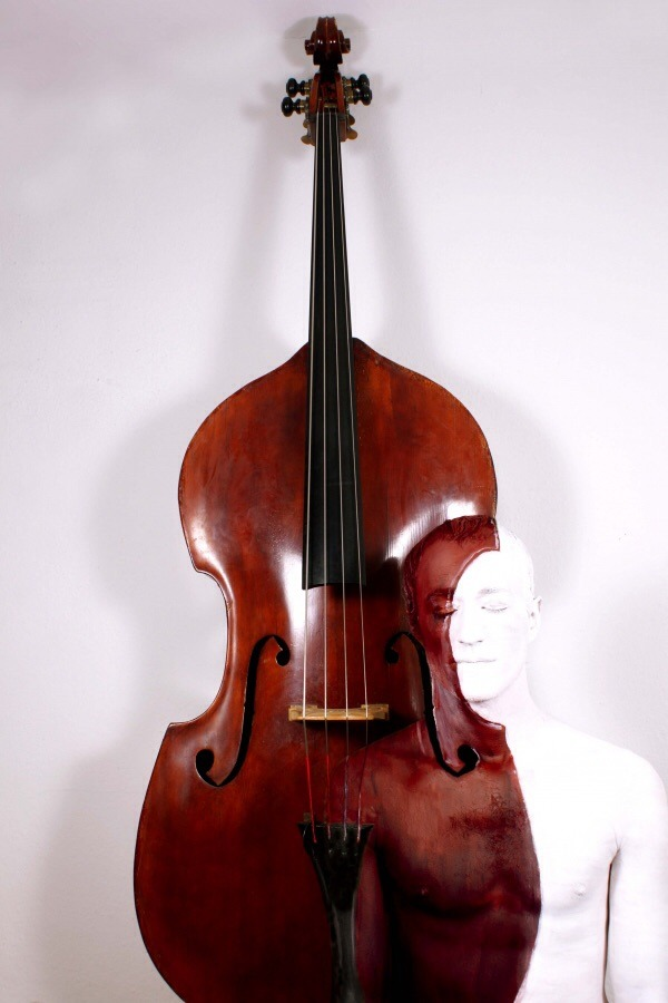 Cello Body-Paintings