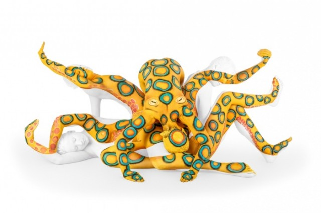 Octopus Body-Paintings