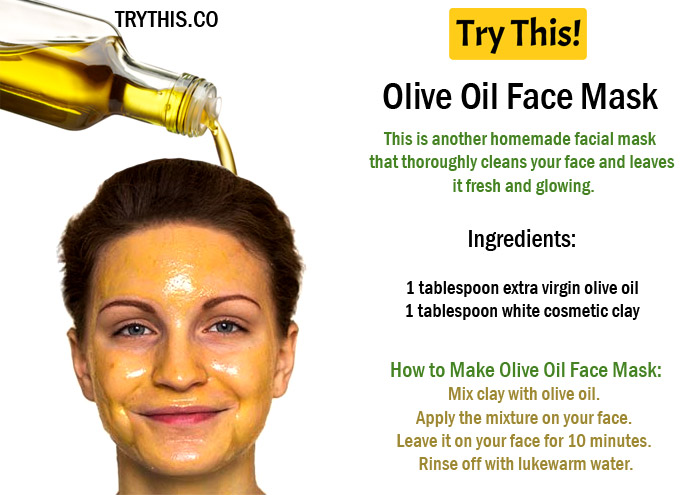 Olive Oil Face Mask