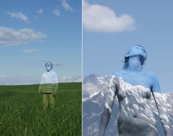 Sky Body-Paintings