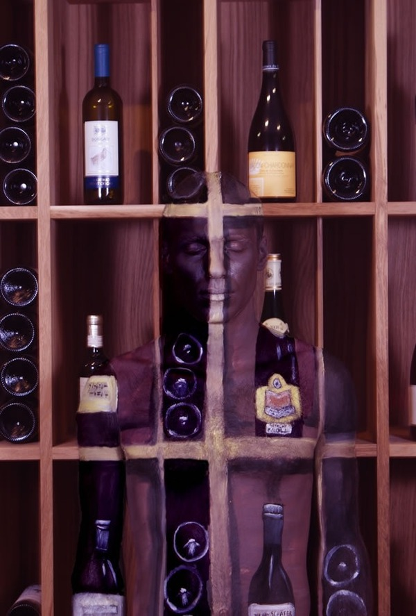 Wine Cabinets Body-Paintings