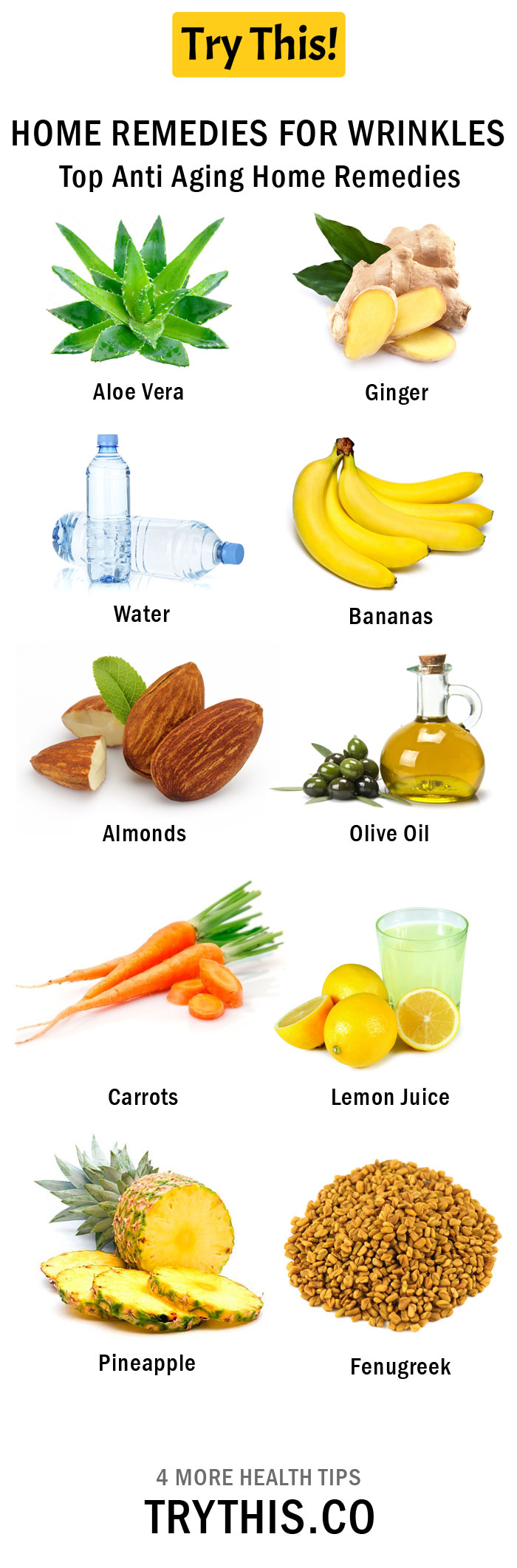 Top Anti Aging Home Remedies Beauty Tips