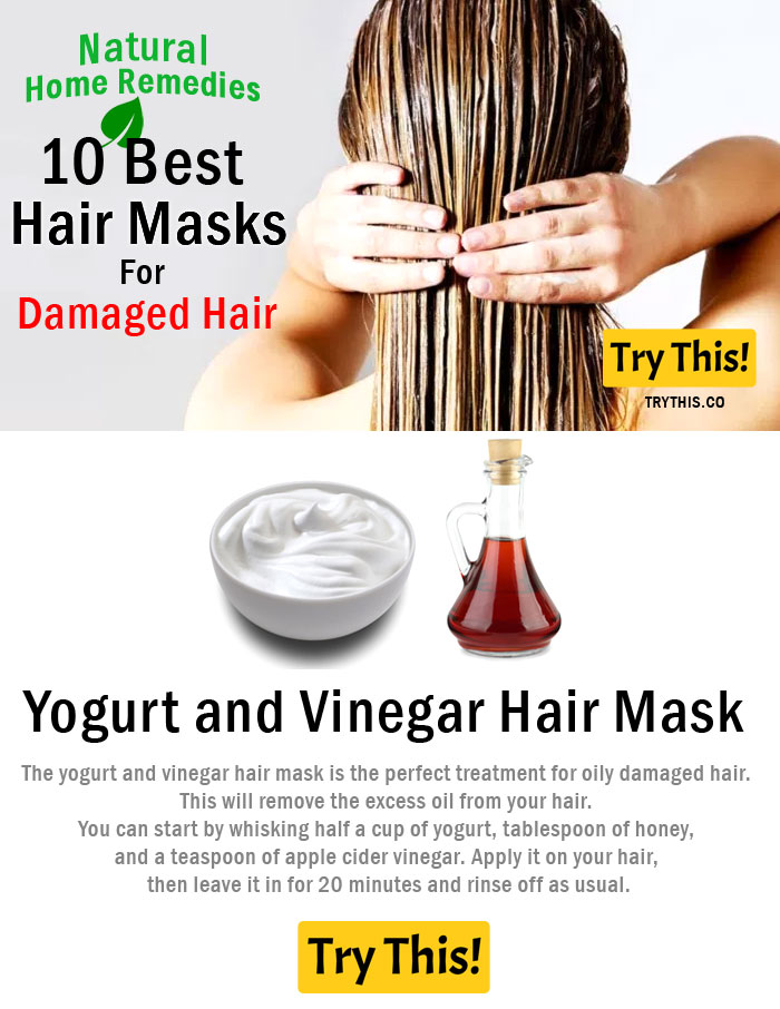 Yogurt and Vinegar Hair Mask