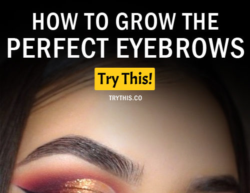 Perfect Eyebrows: How to Grow Eyebrows by Applying These Home Remedies