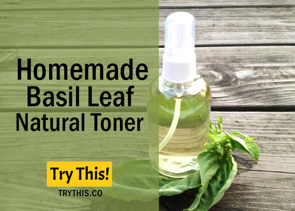 Basil LeafToner- Recommended for Dry and Sensitive Skin