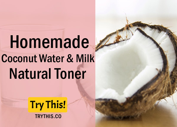 Coconut Water & Milk Toner - Recommended for Dry Sensitive skin