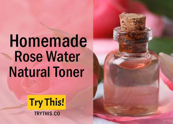 Rose Water Toner - Recommended for Oily and Dry skin