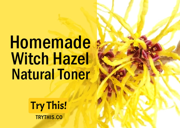Witch HazelToner- Recommended forall Skin Types