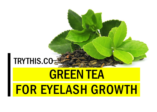 Green Tea Extract for Thicker and Longer Lashes