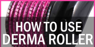 How to Use Derma Roller